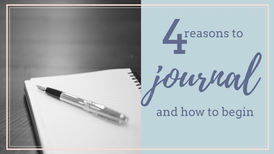 4 Reasons to Keep a Spiritual Journal and How to Begin