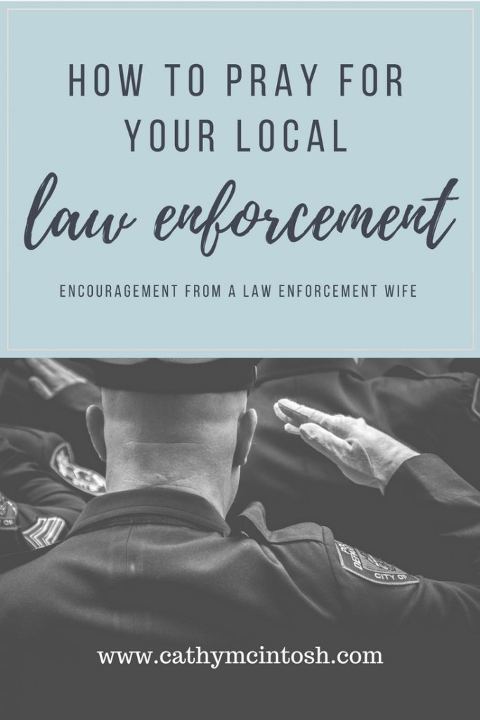 how to pray for local law enforcement