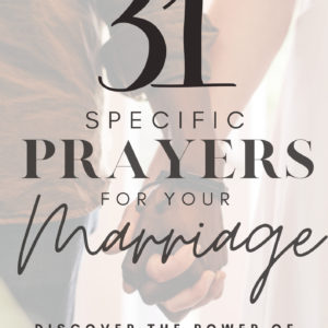 prayer devotional for marriage