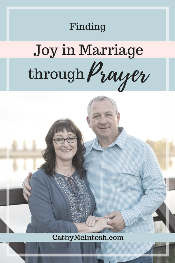 joy in marriage through prayer