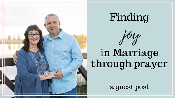 Finding Joy in Marriage Through Prayer