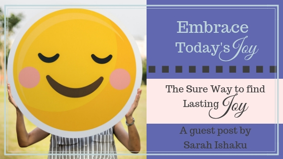 The Sure Way to Find Lasting Joy